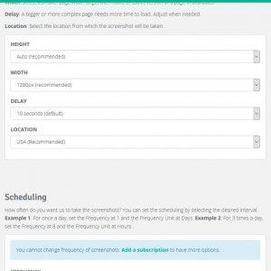 Stillio, un service qui surveille des pages web par captures d'écran