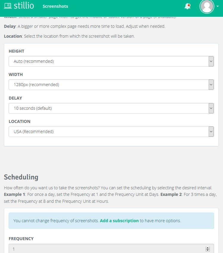 changement page web automatique